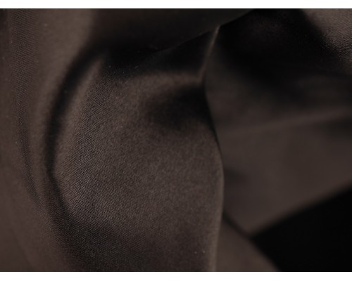 Duchess Satin Fabric - Black