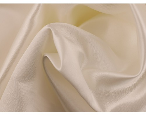 Duchess Satin Fabric - Ivory