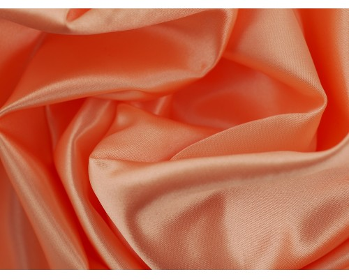 Duchess Satin Fabric - Peach