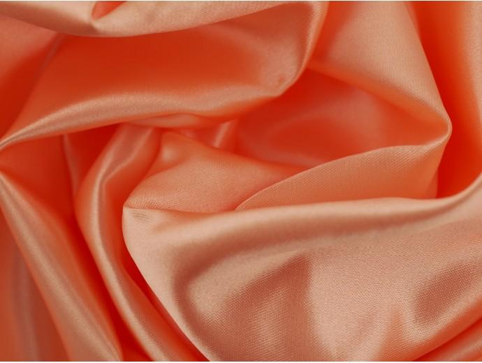 Duchess Satin Fabric - Peach