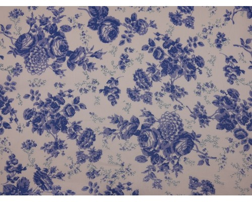 Printed Cotton Lawn Fabric - Rebecca