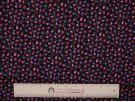 Printed Cotton Poplin Fabric -  Mini Tulips