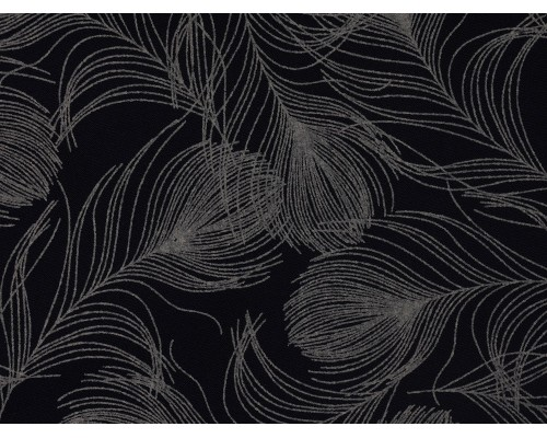 Printed Cotton Poplin Fabric -  Feathers
