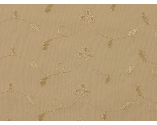 Broderie Anglaise Fabric - Cream