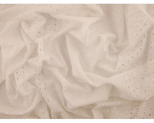 Broderie Anglaise Fabric - Patchwork