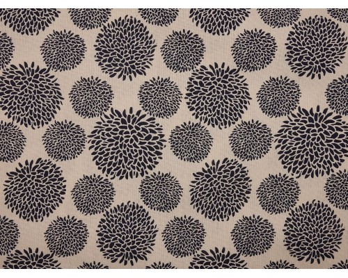 Canvas Fabric - Chrysanthamums