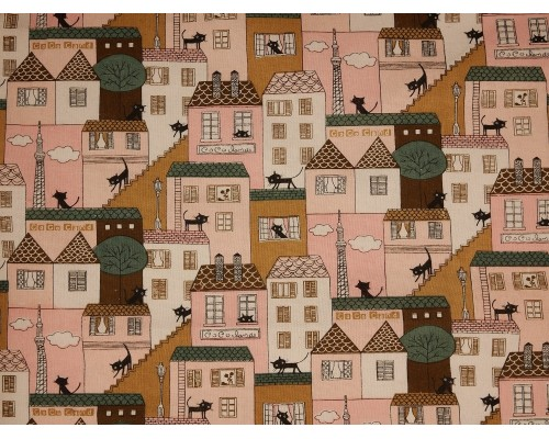 Canvas Fabric - Alley Cat