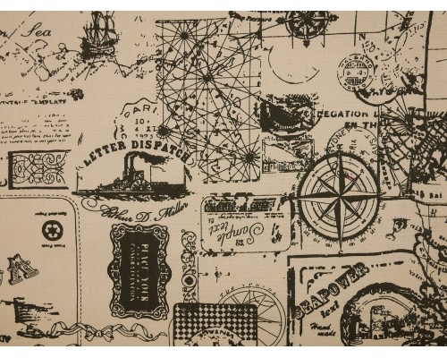 Canvas Fabric - Voyage