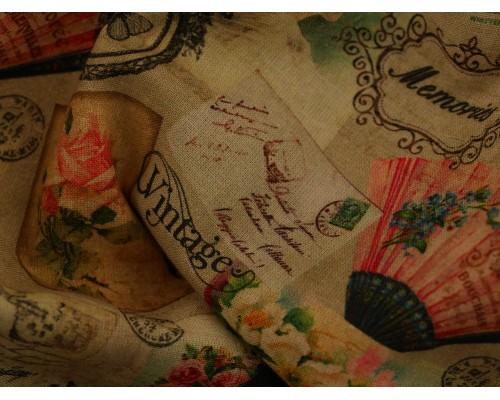 Woven Cotton Fabric - Souviner