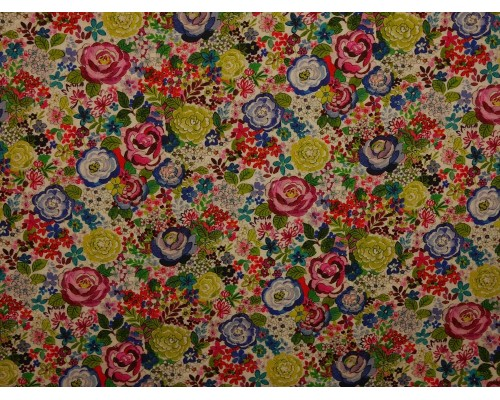 Woven Cotton Fabric - Rosebud