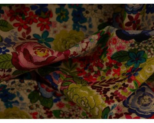 Woven Cotton Fabric - Rosebud