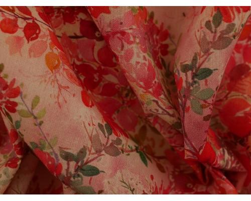 Woven Cotton Fabric - Feuillu