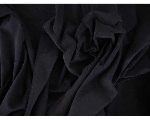 Needlecord Fabric - Navy
