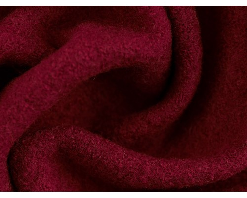 Pure Boiled Wool - Bright Pink