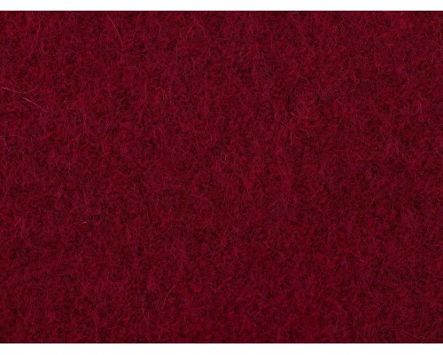 Pure Boiled Wool - Cerise