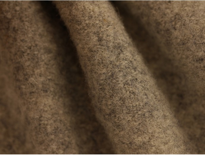 Pure Boiled Wool - Grey