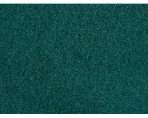 Pure Boiled Wool - Teal Blue