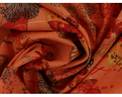 Printed Cotton Poplin Fabric -  Devotion
