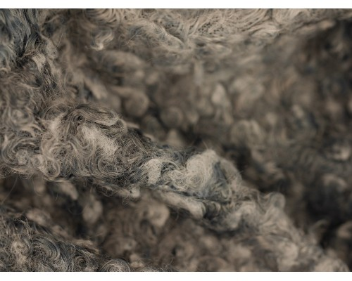 Boucle Fabric - Grey