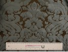 Furnishing Fabric - Brown Damask