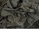 Furnishing Fabric - Brown Damask