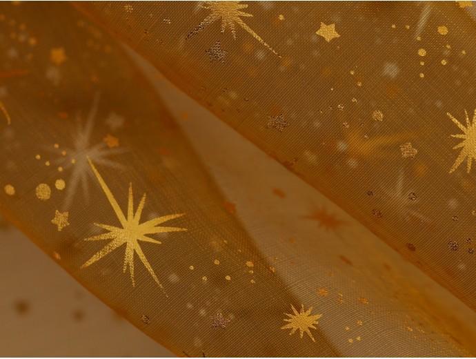 Organza Fabric - Starry Night
