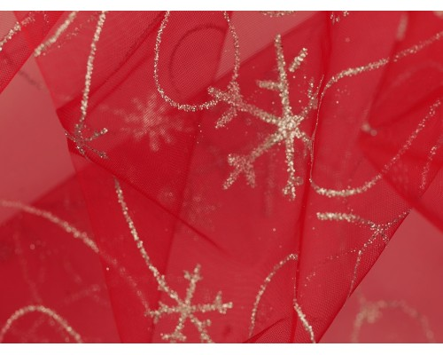 Organza Fabric - Christmas Sparkle