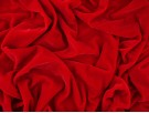 Velvet Sparkle Fabric - Red