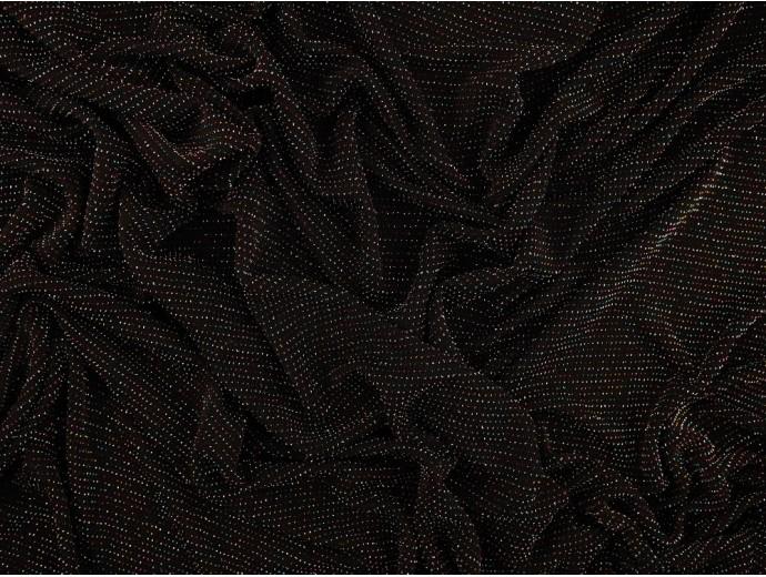 Single Jersey Fabric - Multi-coloured Sparkle