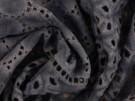 Broderie Anglaise Fabric - Vintage Indigo