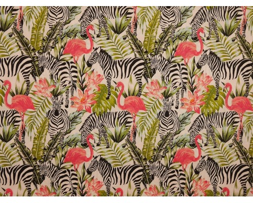 *Fabric of the Week* Printed Cotton Poplin Fabric -  Jungle