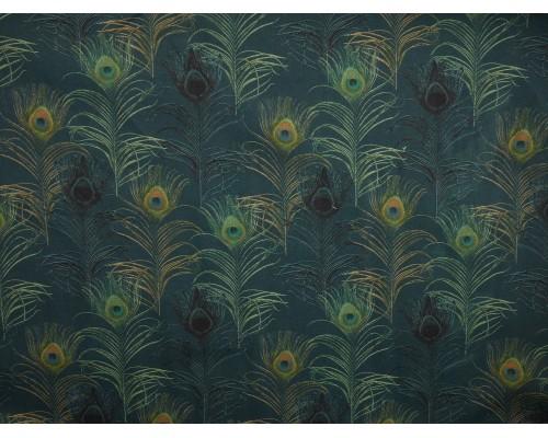 Printed Cotton Poplin Fabric -  Piuma 1