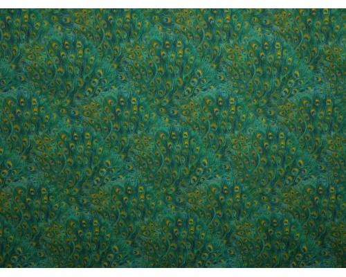 Printed Cotton Poplin Fabric -  Piuma 3
