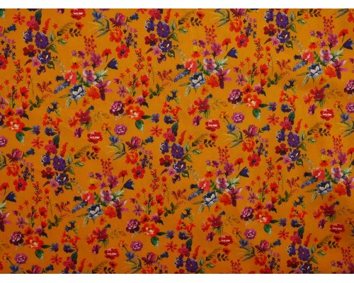 Printed Cotton Poplin Fabric -  Amaia