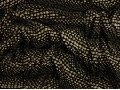 Single Jersey Printed Fabric - Monochrome Wave