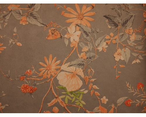 Scuba Suede - Floral
