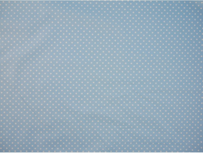 Printed Cotton Poplin Fabric -  Polka Dot