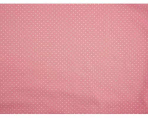Printed Cotton Poplin Fabric -  Polka Dot