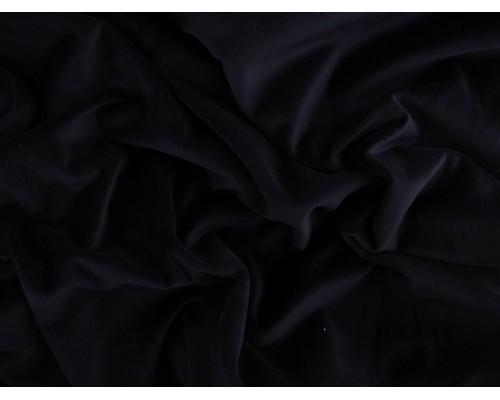 Woven Cotton Velvet Fabric - Navy