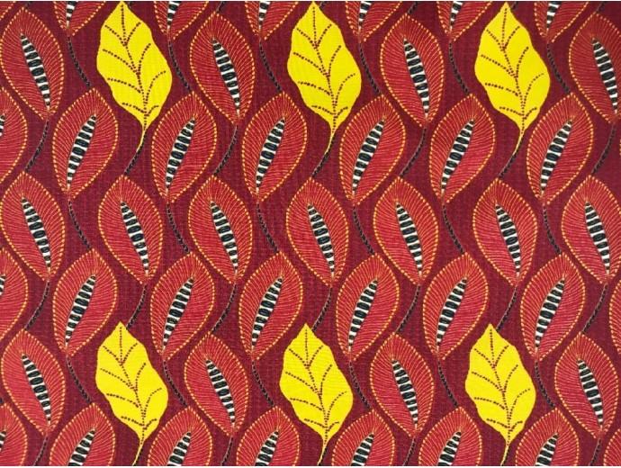 Printed Cotton Poplin Fabric - Tamtam