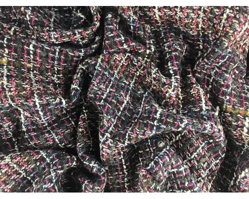 Woven Jacquard Fabric - Multi Chanel