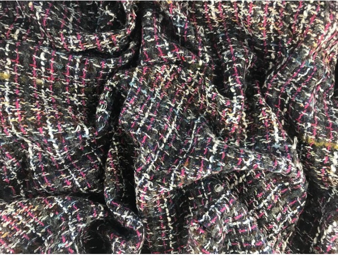Woven Jacquard Fabric - Multi Chanel