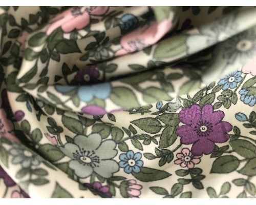 *Fabric of the Week* Printed Cotton Poplin Fabric -  Vintage Floral