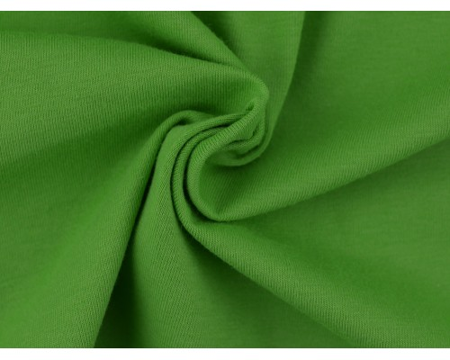 Single Jersey Fabric - Apple Green
