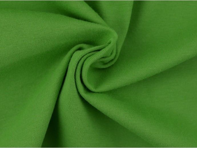 Single Jersey Fabric - Apple Green