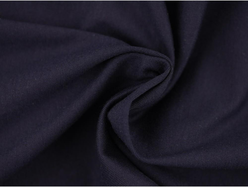 single jersey fabric navy. Black Bedroom Furniture Sets. Home Design Ideas