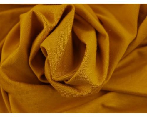 Single Jersey Fabric - Mustard