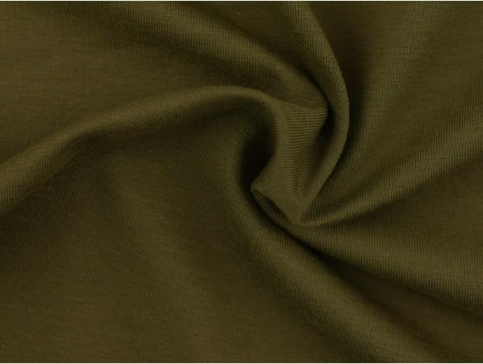 Single Jersey Fabric - Khaki