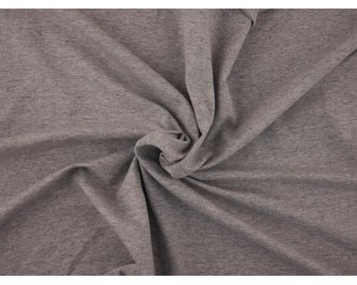 Single Jersey Fabric - Grey Marl