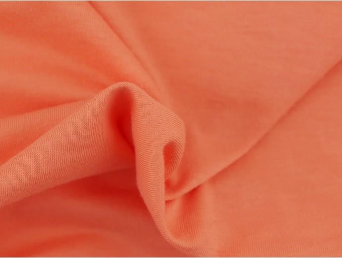 Single Jersey Fabric - Apricot